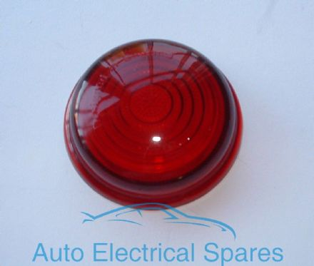 Lucas type L488 RED glass lens
